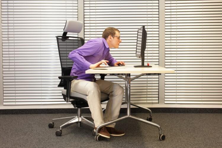 Poor Posture Image