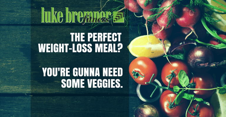 Weight Loss Meal - Luke Bremner Fitness - Personal Trainer Edinburgh