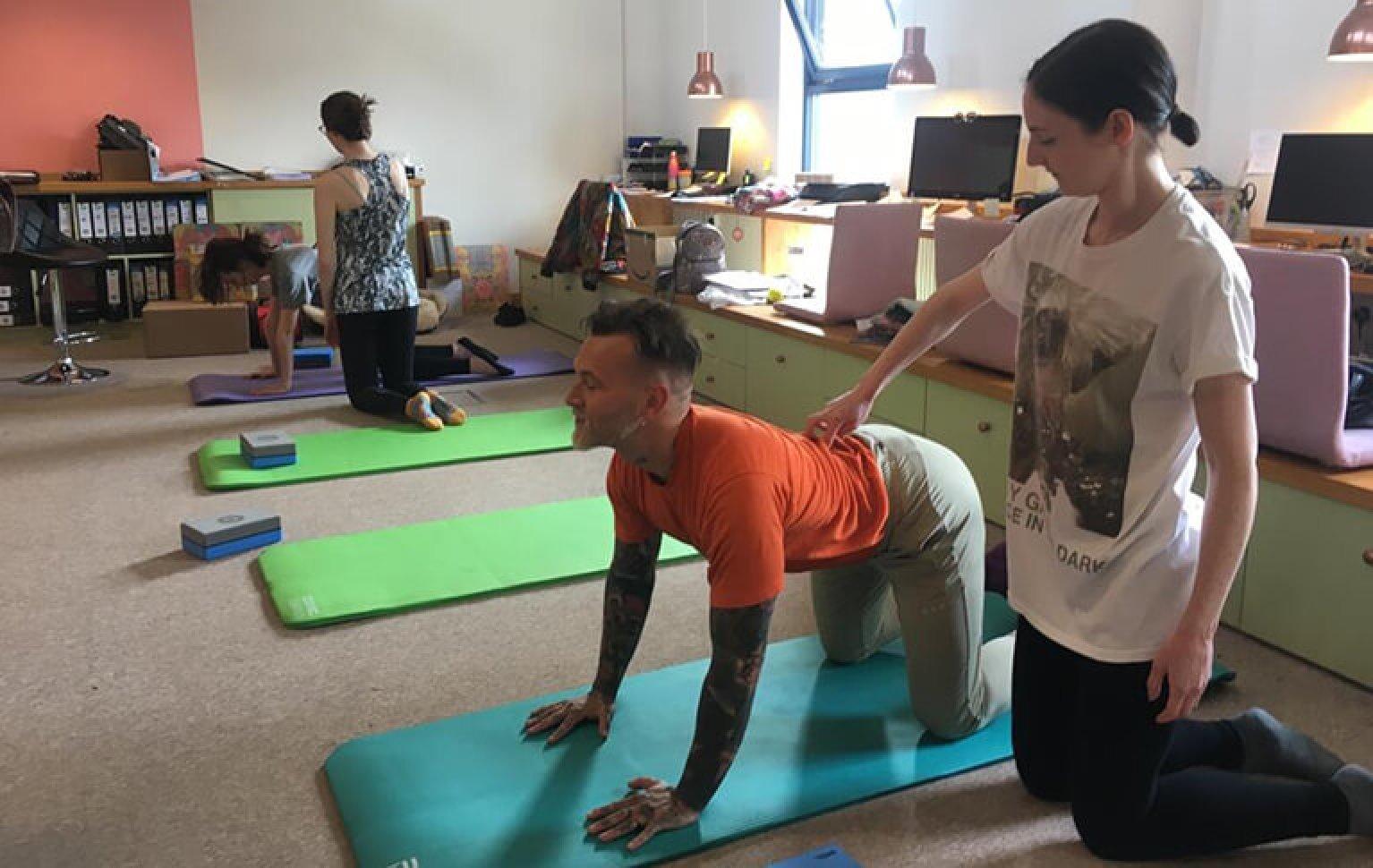 Mobility Classes Edinburgh - Luke Bremner Fitness - Alex Mc Laren FRC